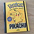 Nous avons découvert mon journal secret pokémon pikachu