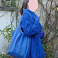Un total look bleu électrique!!!