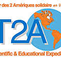 L'expédition tour des deux amériques solidaire en voilier se dote d'un logo