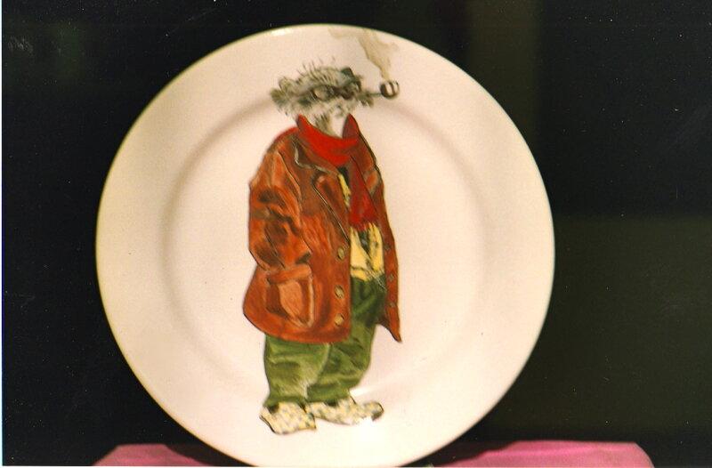 Peinture sur assiette en faience le blog d 39 aventurine for Peinture sur faience