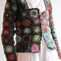 grannys fleurs + gilet 006