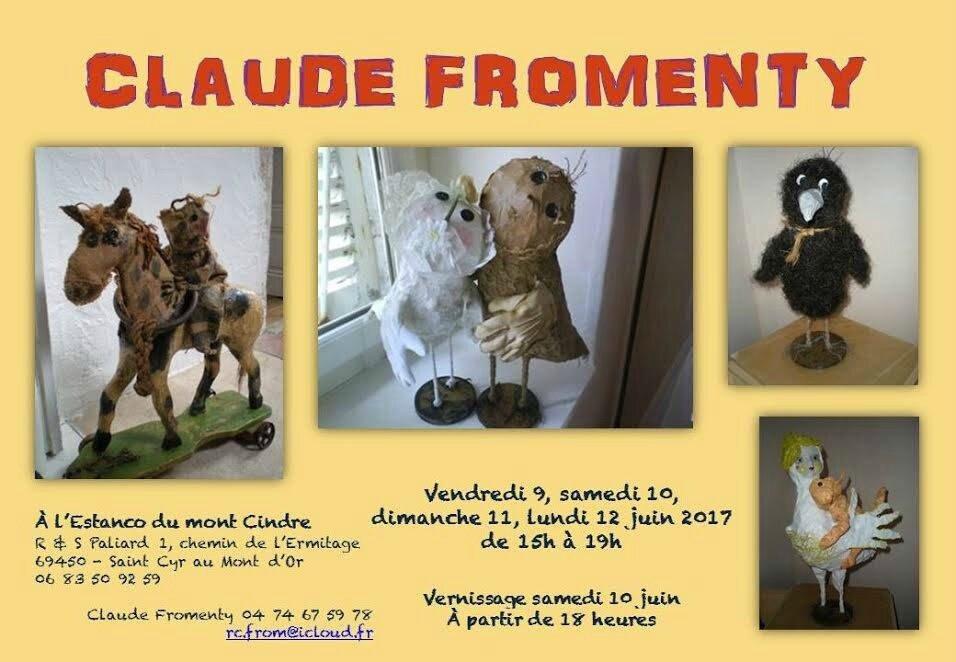 - Exposition Claude FROMENTY - ST CYR AU MONT D'OR