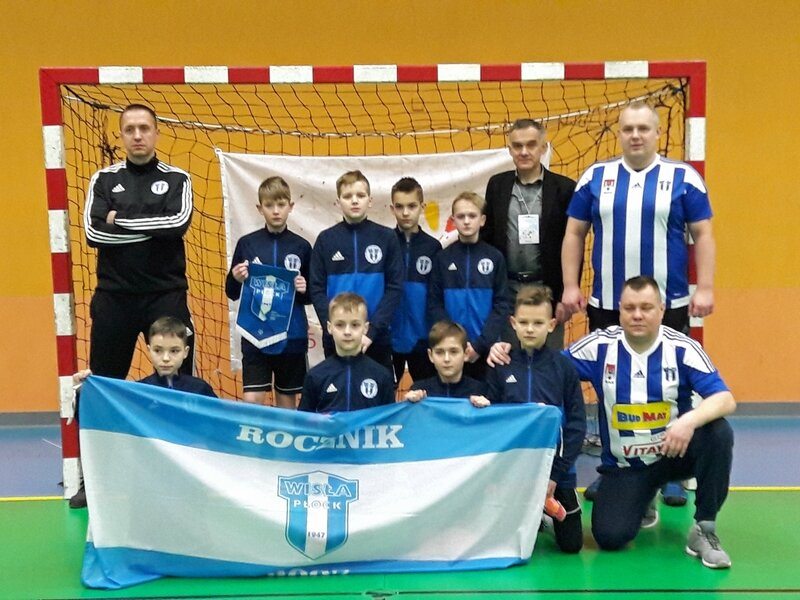 002 - l'équipe futsal de Plock