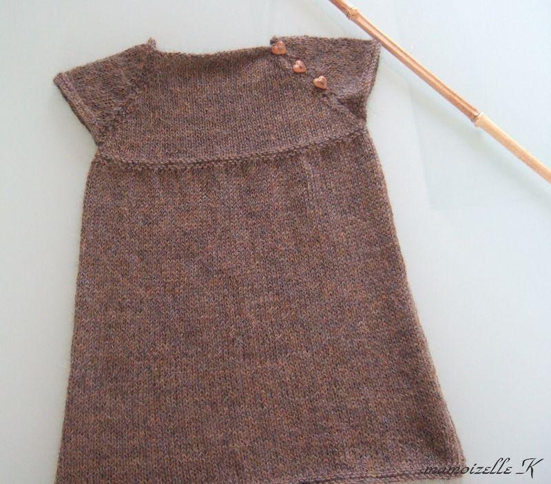 comment tricoter une jupe pour fillette