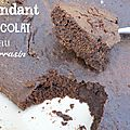 Fondant chocolat à la mode bretonne