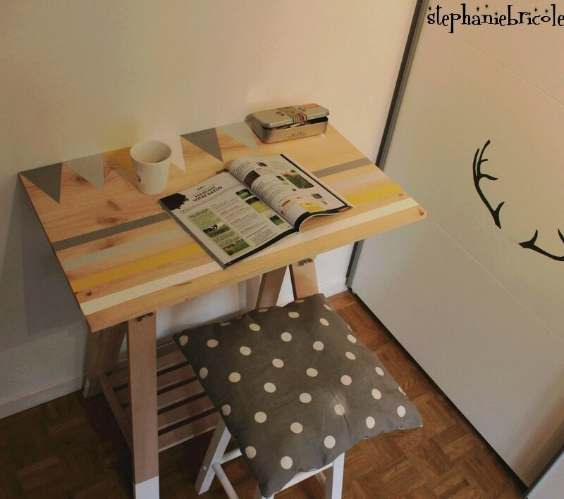 diy bureau treteau photo de tous les diy de 2015 st phanie bricole. Black Bedroom Furniture Sets. Home Design Ideas