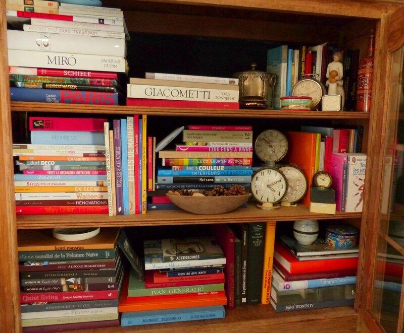 mes livres art deco photo jardin couleur feng shui etc