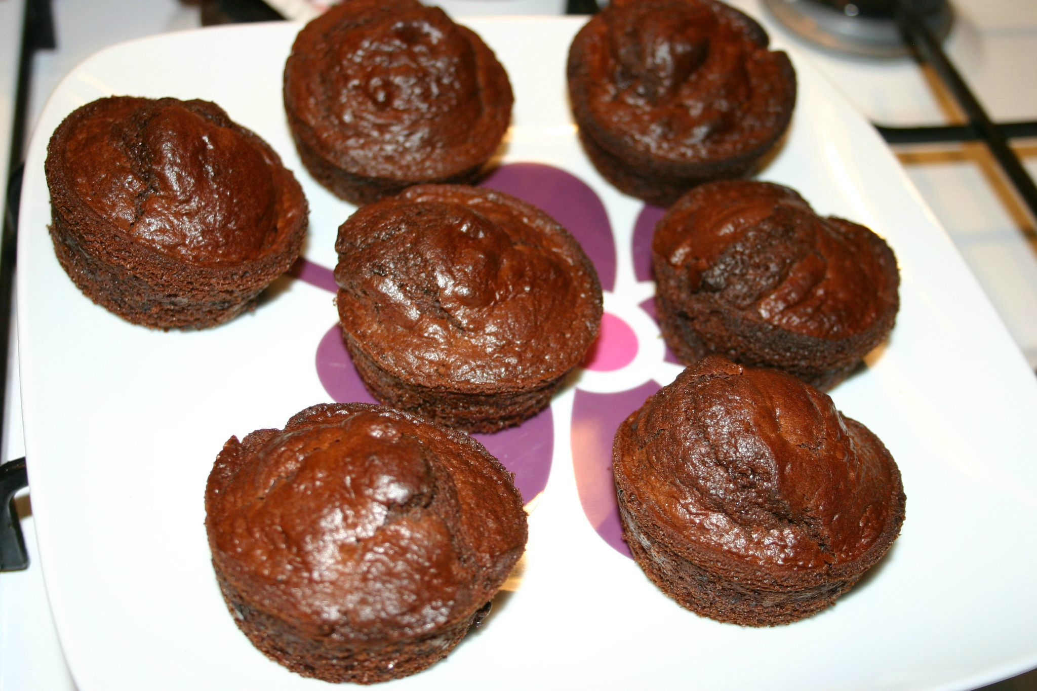 Muffins choco-pépit choco-caramel de Cam et Drey