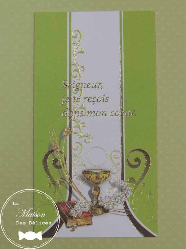 carte communion verte