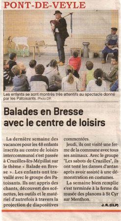 Le journal de Saône et loire 120511