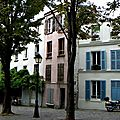 Paris, quartier Haut-Belleville-Jourdain