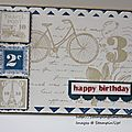 Postage due shower serie cards #3