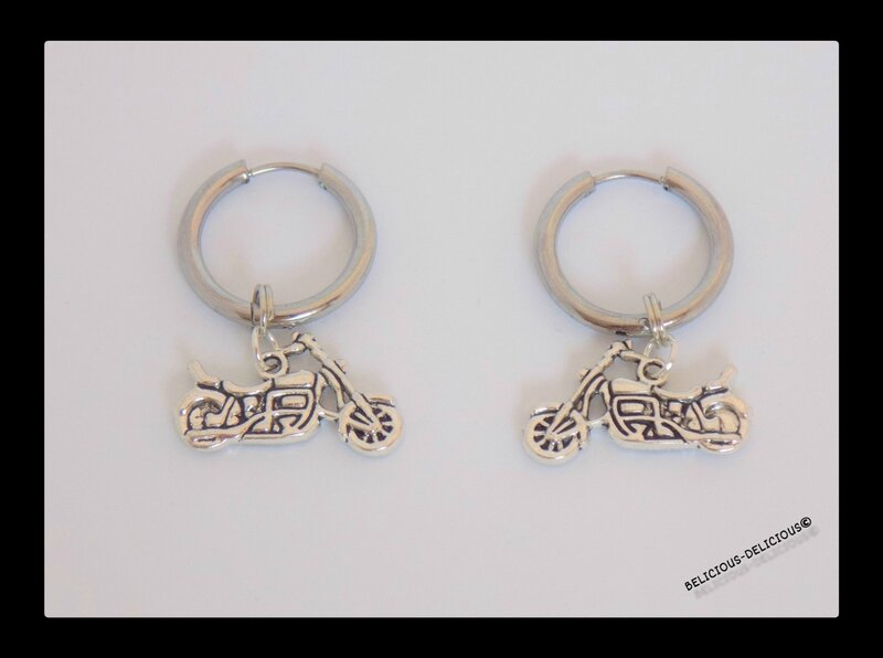 earrings mens moto