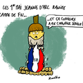 1 er mai, jeanne d'arc et front national