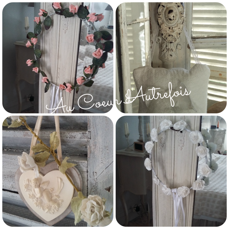 Couronne de Communion Shabby S