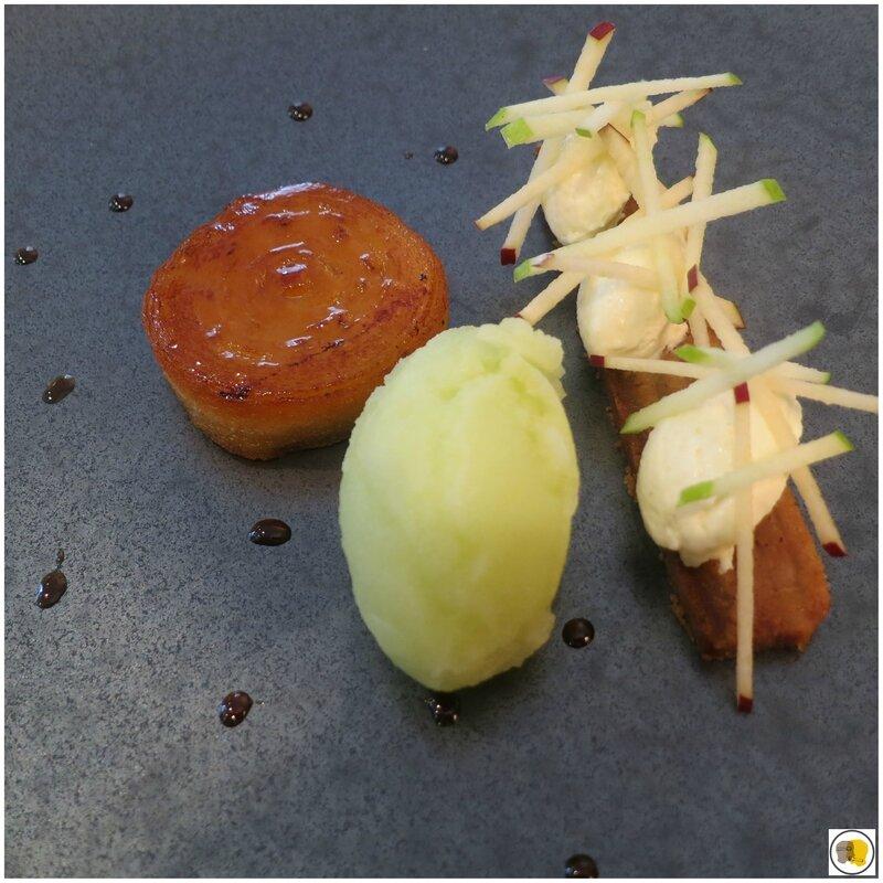 Dessert à la pomme (1)