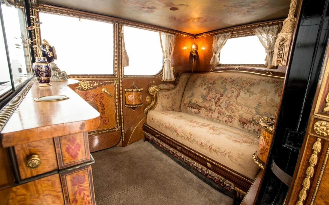 famous rolls royce 39 more like the throne room at versailles than a car 39 for sale at bonhams. Black Bedroom Furniture Sets. Home Design Ideas