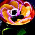 Salade orange oignon