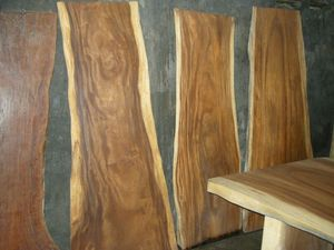 Acacia Wood Table Slabs