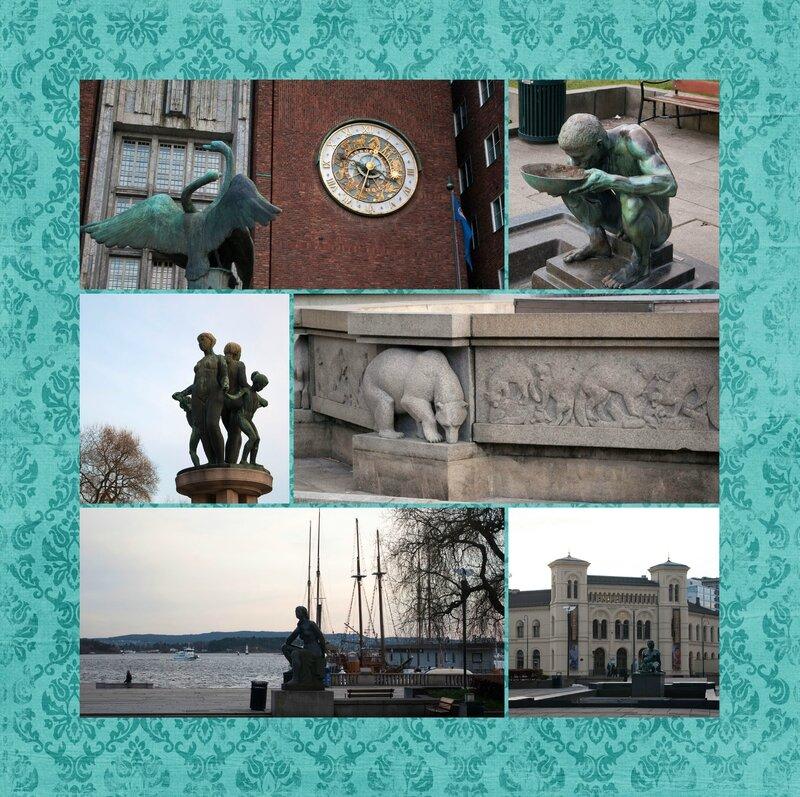 Horloge astronomique Oslo