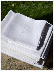 serviettes