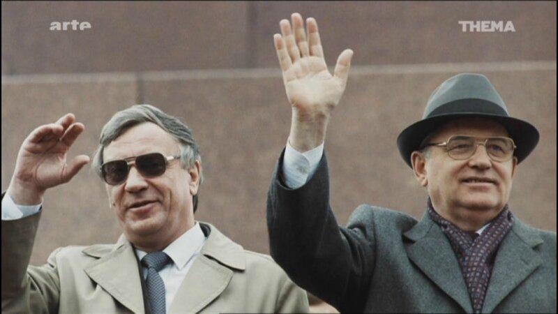 URSS Chute ARTE le 13 Aout 2014 Genadi Yanaiev et Gorbi