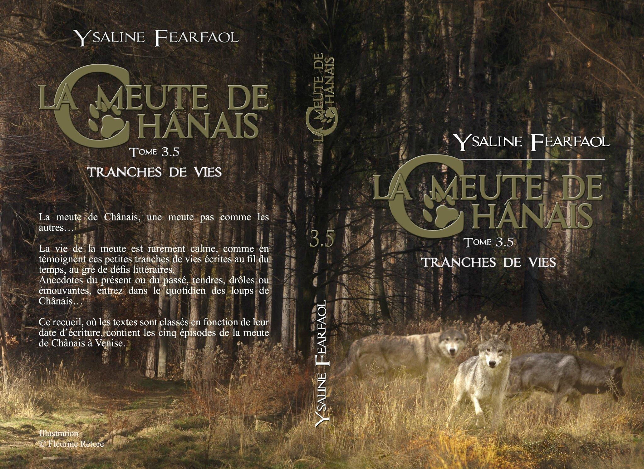 La meute de Chânais tome 3,5 : tranches de vie (Ysaline Fearfaol)