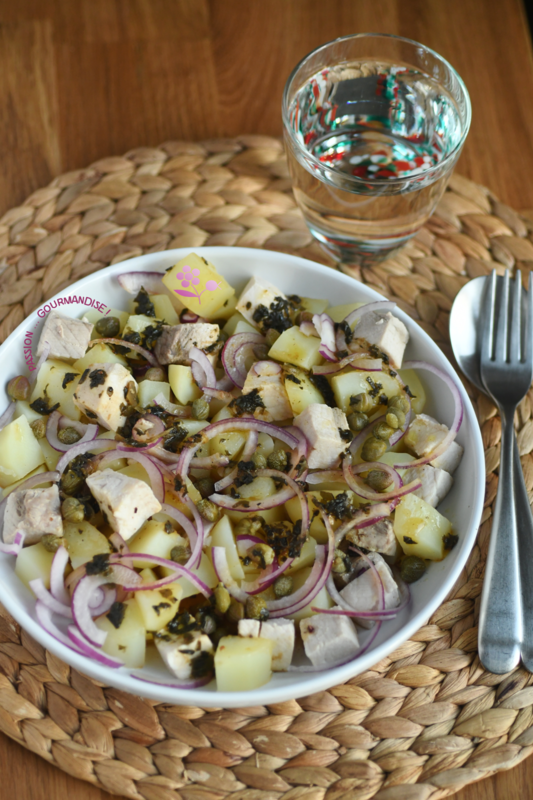 Salade tiède de pommes de terre de la mer_2