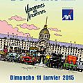 15ème traversée de paris en anciennes : les vidéos