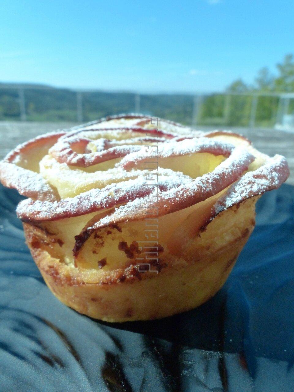 Recette tarte aux pommes picarde - Recette tarte normande traditionnelle ...