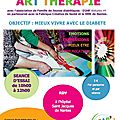 La nouvelle session d'art therapie demarre !