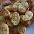 palmiers au parmesan