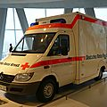 MERCEDES BENZ Sprinter 313 CDI ambulance Croix Rouge 2001 Stuttgart (1)