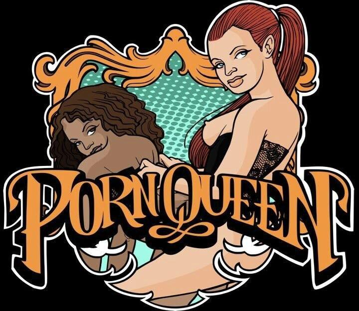 porn queen logo