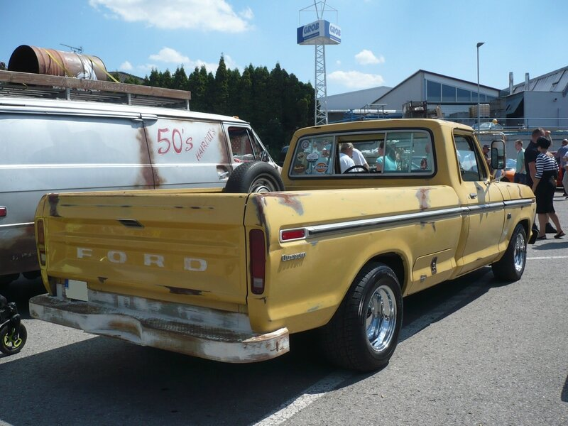 FORD F-100 Custom 2door pick-up 1973 Sinsheim (2)
