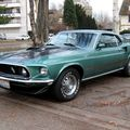 Ford mustang mach 1 fastback coupe de 1969 (Retrorencard) 01