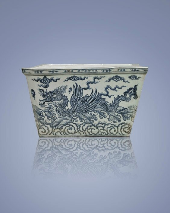 Early Ming Dynasty porcelain vessel expected to sell for $600K-$800K in I.M. Chait sale