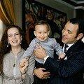 Le roi de Maroc et sa famille