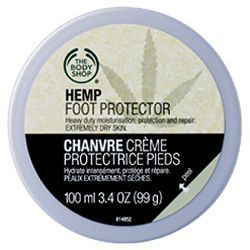 Crème Protectrice Pieds Chanvre the body shop