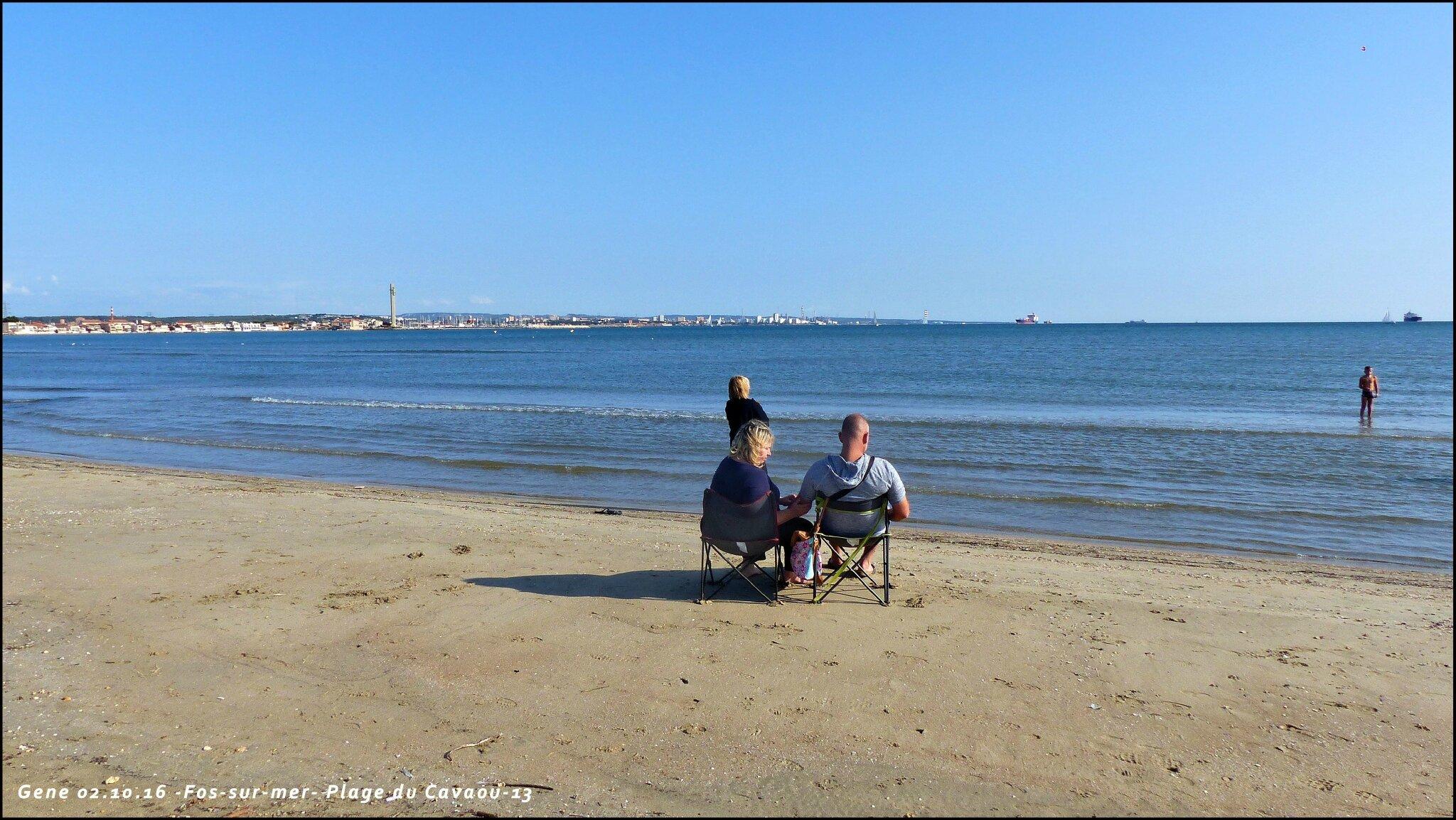 13 fos sur mer 2 la plage du cavaou un instant for Piscine fos sur mer