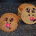 Cookies croquants aux épices de noël