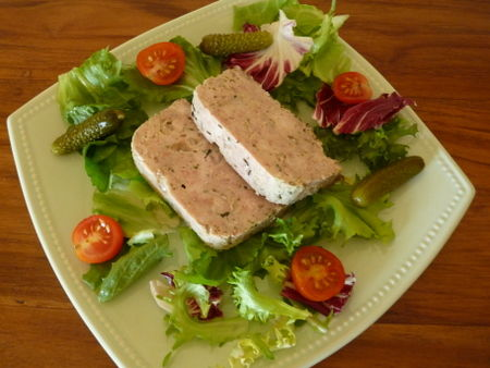 Terrine aux 3 viandes weight watchers la cuisine de for Entree simple et rapide
