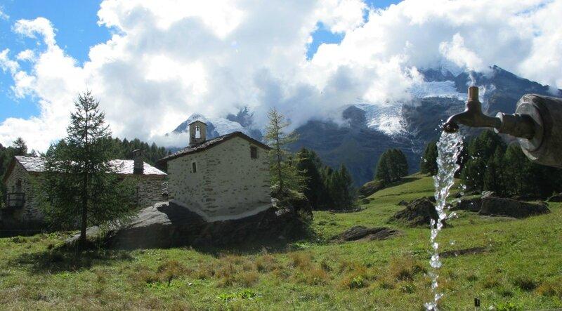 3-19-09 Le Monal - vue Mont Pourri