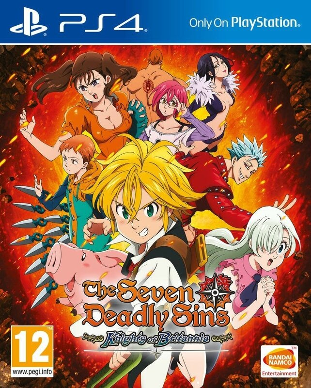 Seven Deadly Sins PS4