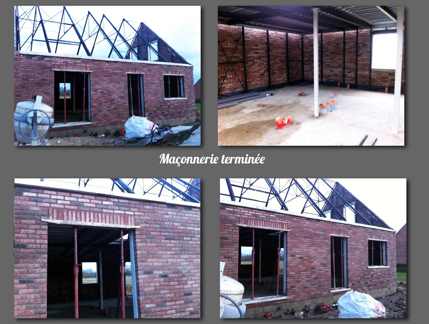 Ma onnerie termin e construction d 39 une maison ph nix for Maison phenix var