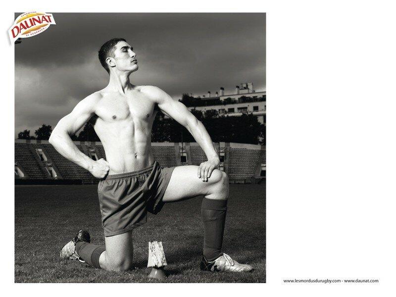 Athletes nus les mordus du Rugby !