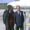 France:françois hollande crée un malaise parmi les quatre ex-otages
