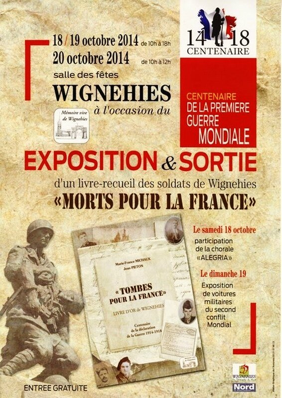 Affiche Expo Wignehies