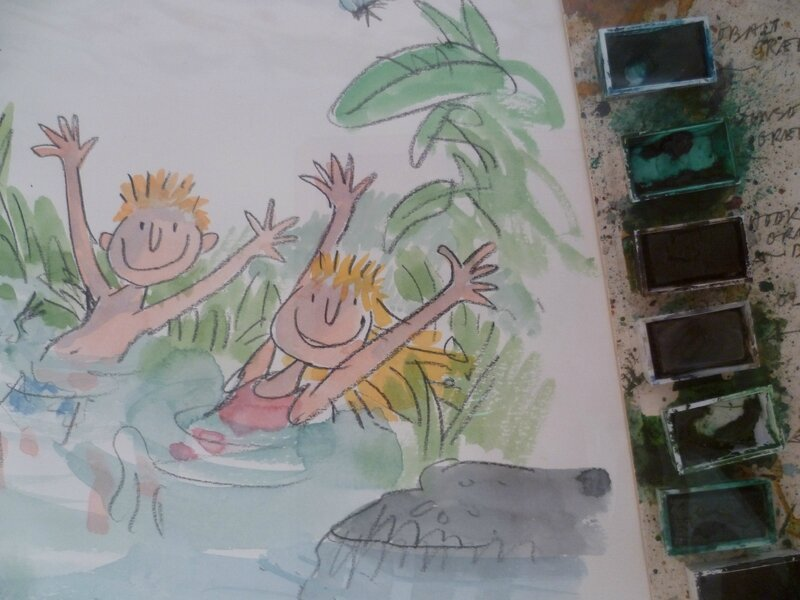 Inside Stories, Quentin Blake