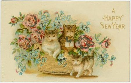 Blog_New_Year_Vintage_Cat_Postcard